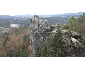 Kletterfelsen Mönch Bastei