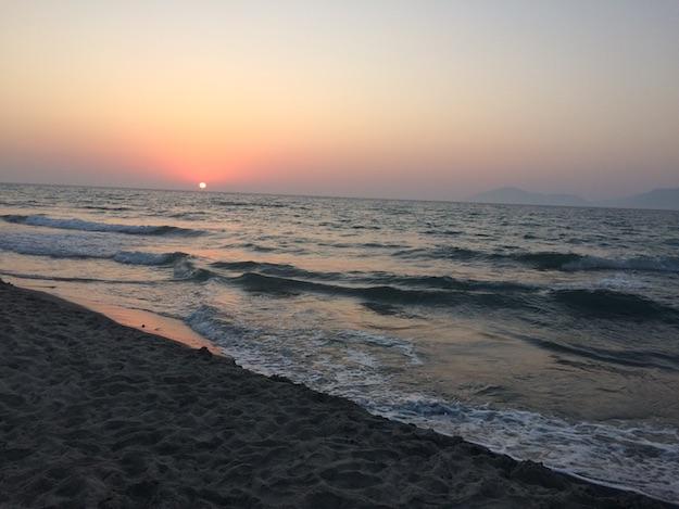 Strand Sonnenuntergang Kos