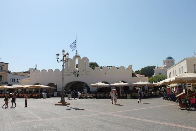 Leftherias Platz Kos-Stadt