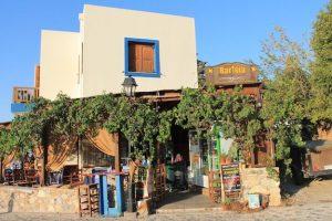 Taverne mit Ausblick in Zia