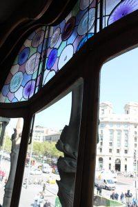 Casa Batllo Blick Passeig de Gràcia