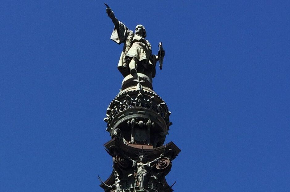Kolumbus-Denkmal Monument a Colom Kolumbus Statue von Rafael Atche