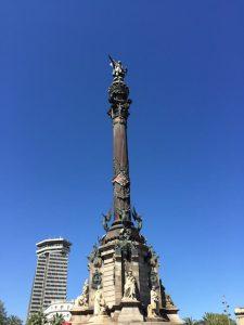 Kolumbus-Denkmal Monument a Colom gute Aussicht