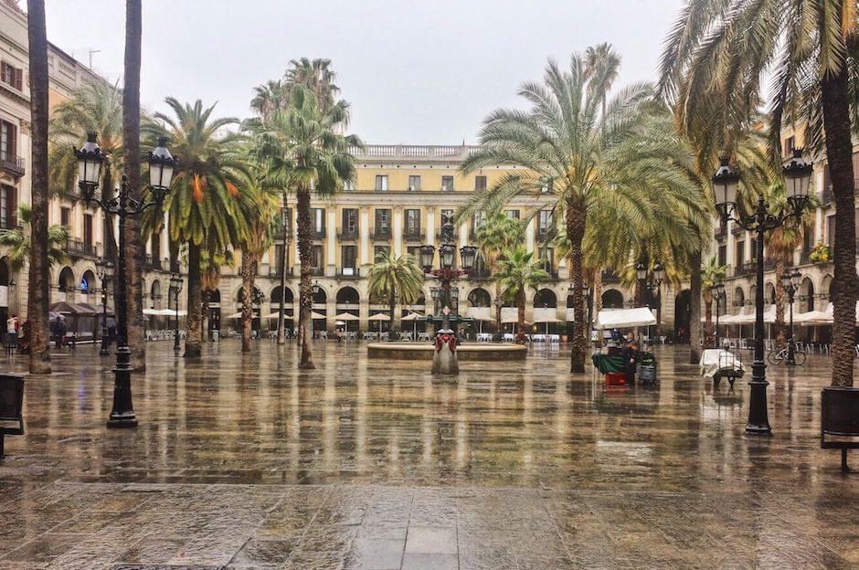 Placa Reial - königlicher Platz