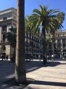 Placa Reial - königlicher Platz Eingang