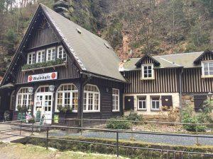 Uttewalder Grund Wanderung Gasthof Waldidylle Sächsische Schweiz