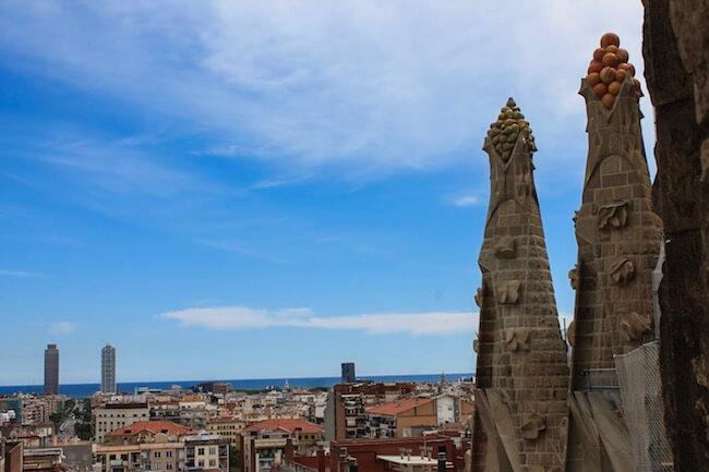 Aussicht Sagrada Familia