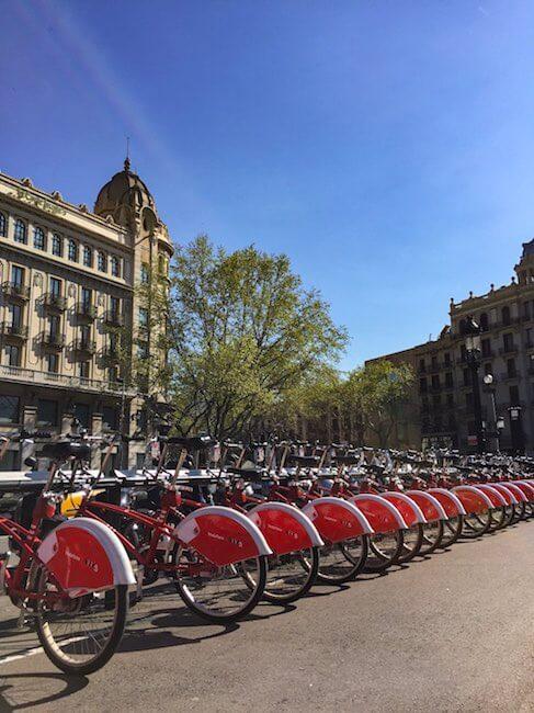 Barcelona Citybikes