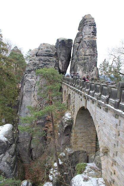 Basteibrücke Blick entlang