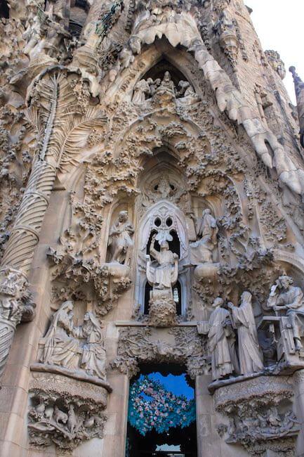 Sagrada Familia Geburtsfassade