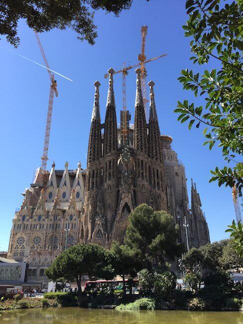 Sagrada Familia von Barcelona