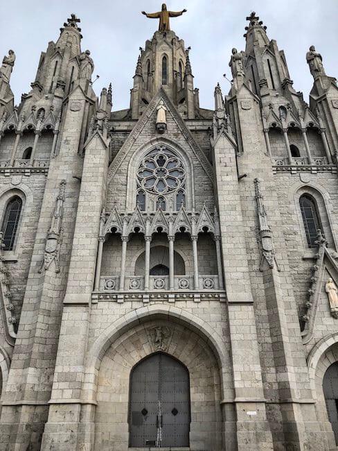 Sagrat Cor Tibidabo Barcelona