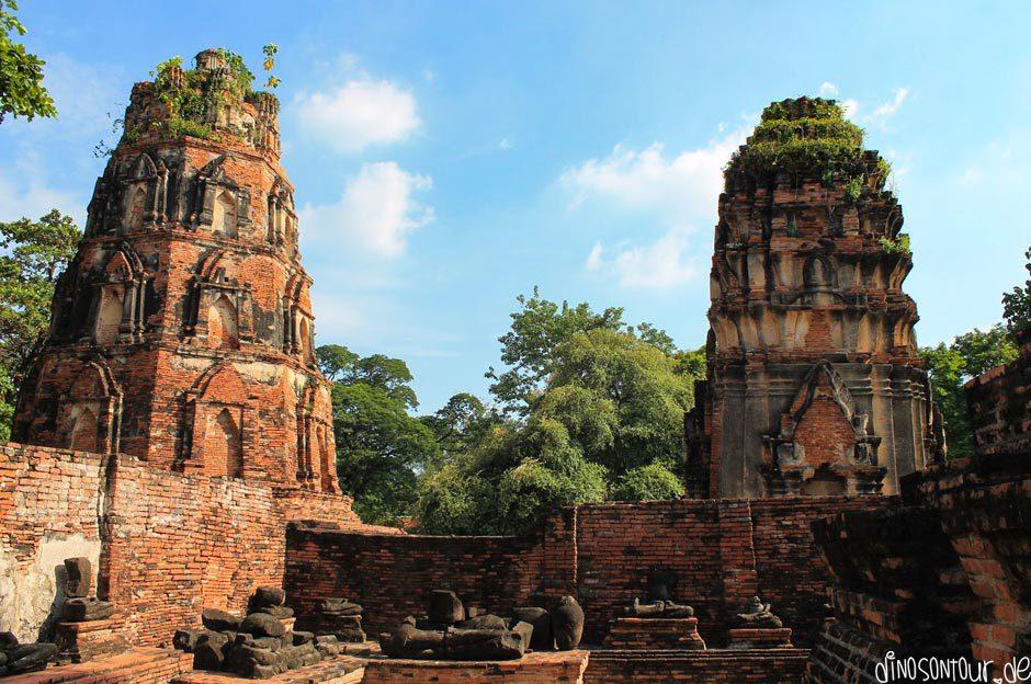 Ayutthaya Ruinen Tagesausflug Bangkok
