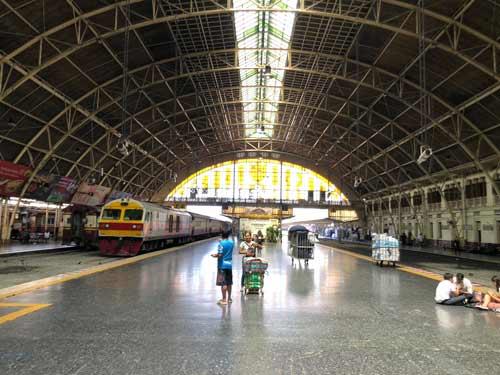 Bahnhofshalle Hua Lamphong Bangkok