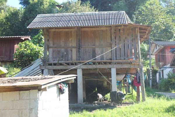 Doi Inthanon Bergvolk Hütte