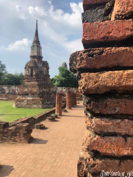Impressionen von Ruinen in Ayutthaya