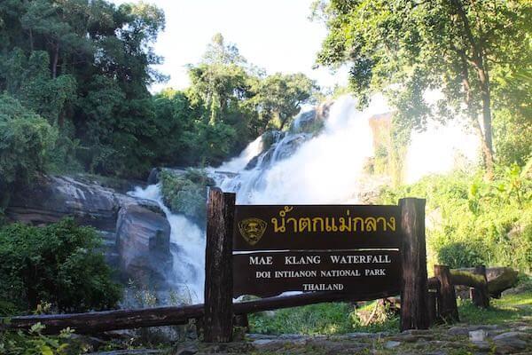 Mae Klang Waterfall Wasserfall Doi Inthanon