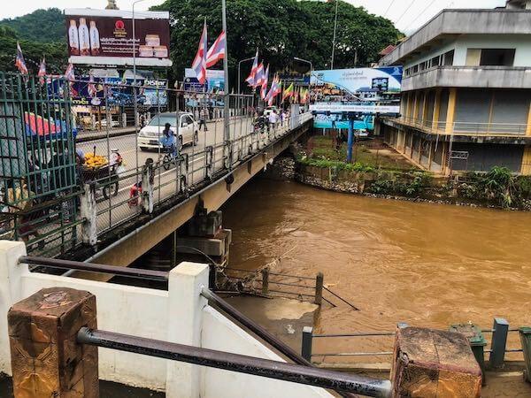 Mae Sai Grenzübergang Thailand-Myanmar