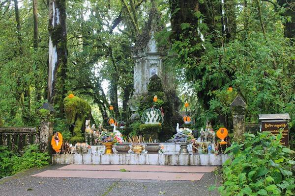 Memorial Shrine am Gipfel des Doi Inthanon