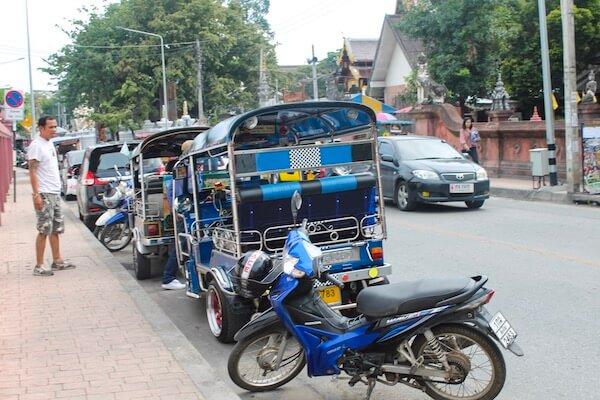TukTuk in Chiang Mai