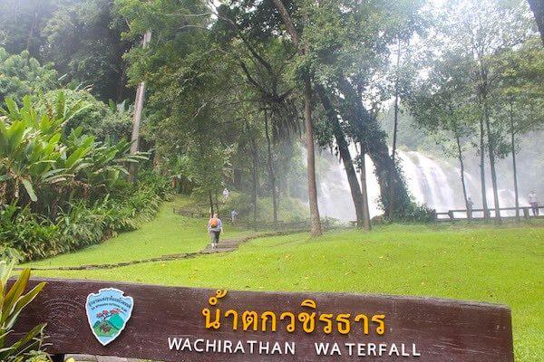 Wachirathan Waterfall Wasserfall Doi Inthanon
