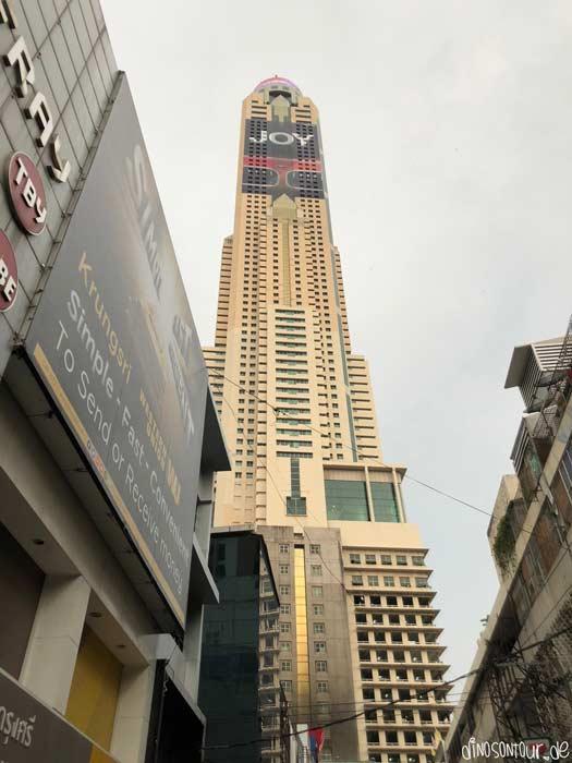 Baiyoke 2 Tower von unten