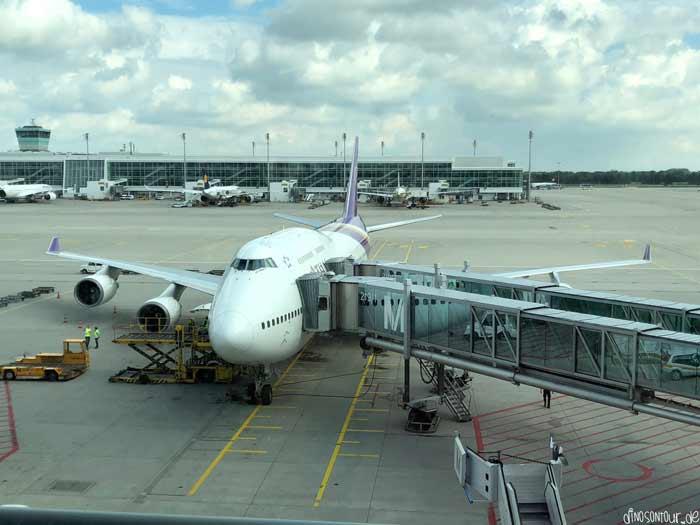 Flugzeug Boeing Thai Airways