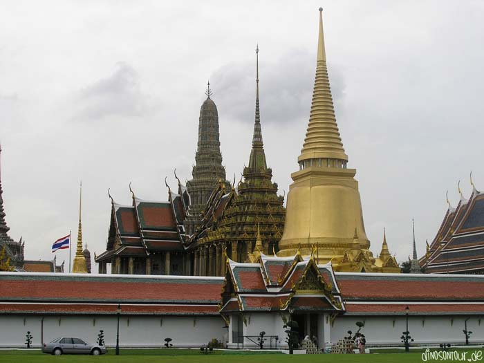 Wat Phra Kaeo im Großen Palast