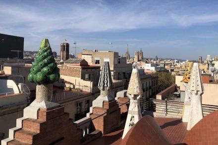 Palau Güell Barcelona Ausblick