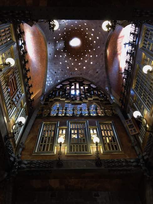 Palau Guell Festsaal
