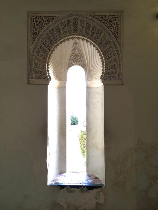 Fensterfront Alcazaba Malaga