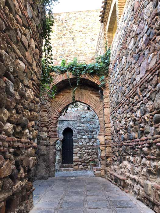 Impression Torbögen Alcazaba Malaga
