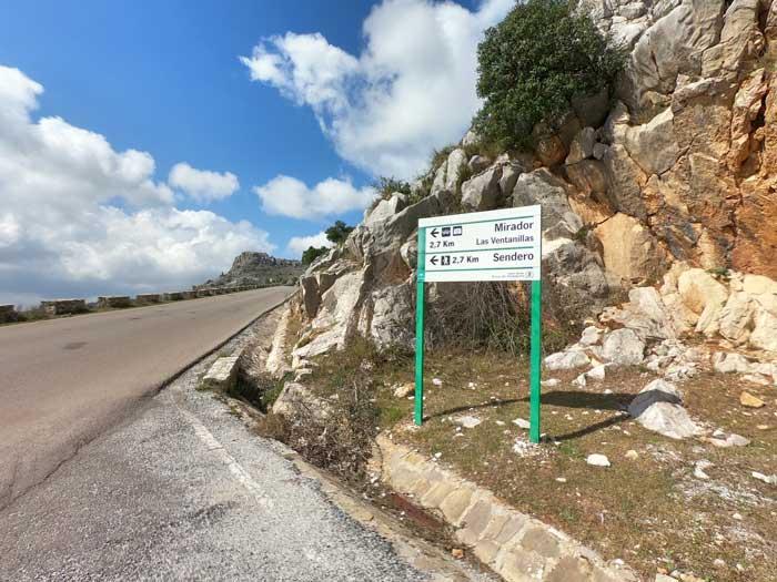 Anfahrt Torcal de Antequera