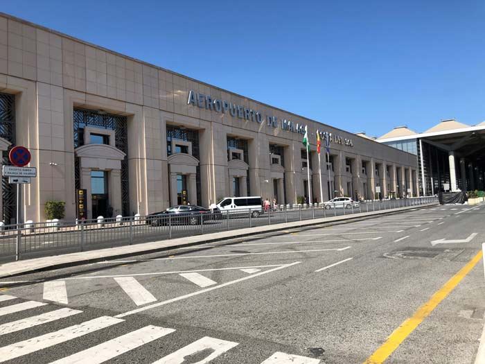 Flughafen Malaga Costa del Sol