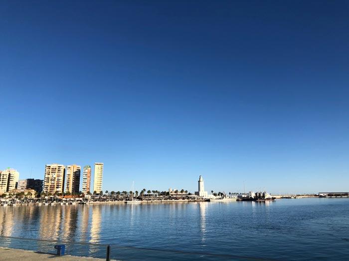 Hafen Malaga