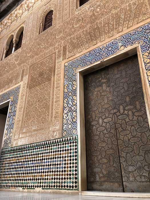 Fliesen Verzierungen Alhambra