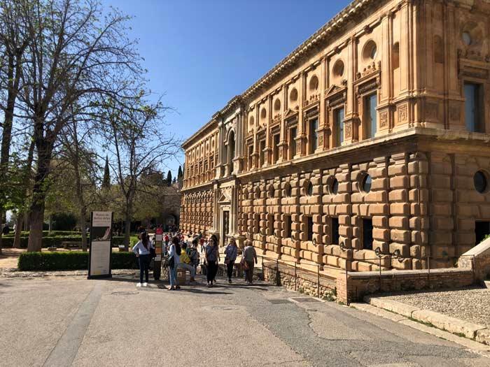 Palast Carlos V Alhambra