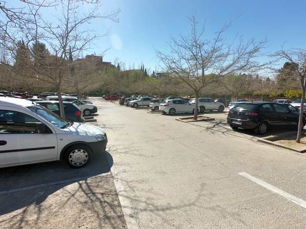 Parkplatz Alhambra