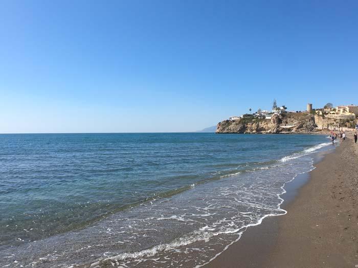Playa Rincon de la Victoria Malaga Andalusien