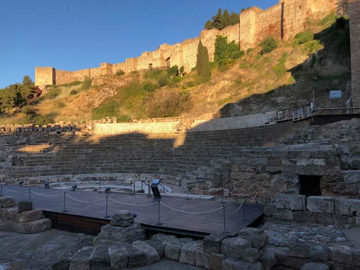 Römisches Theater Malaga