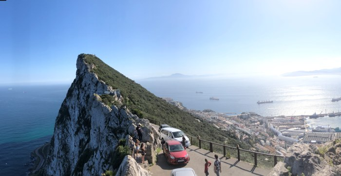 Ausblick Gibraltar Richtung Afrika