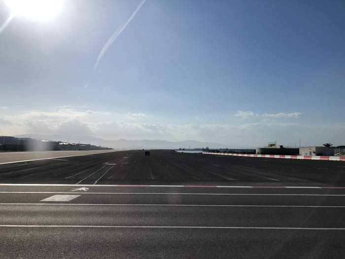 Rollfeld Flughafen Gibraltar