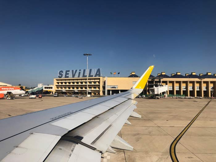 Flughafen Sevilla Terminal