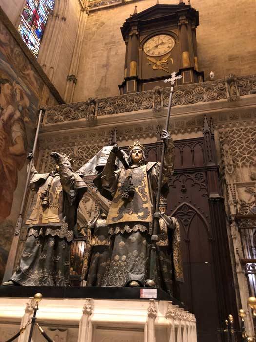 Grab von Christoph Kolumbus Kathedrale Sevilla
