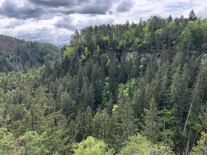 Ausblick vom Hockstein