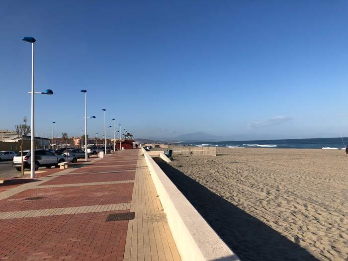 Strandpromenade La Linea