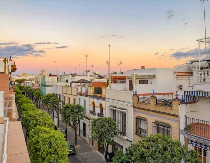 Triana Dachterasse Sevilla