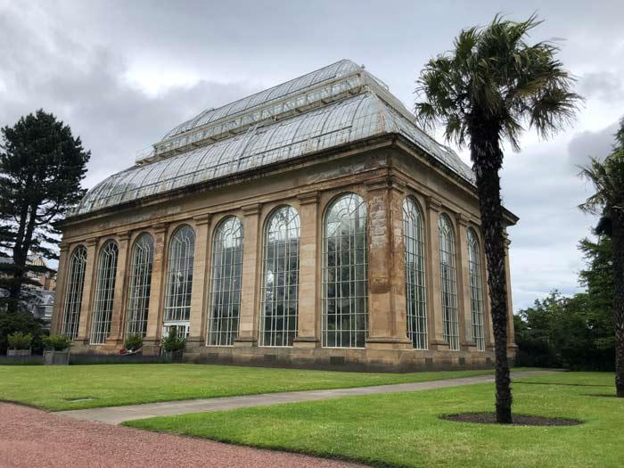 Viktorianisches Palmenhaus im Royal Botanic Garden