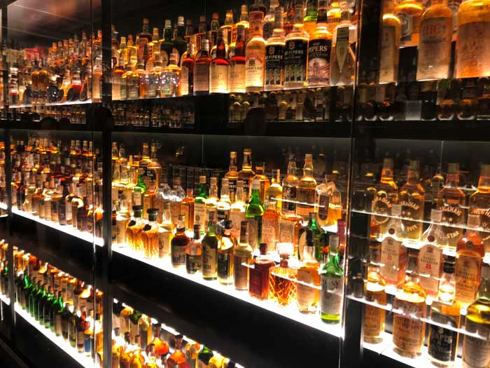 Whisky Sammlung Edinburgh