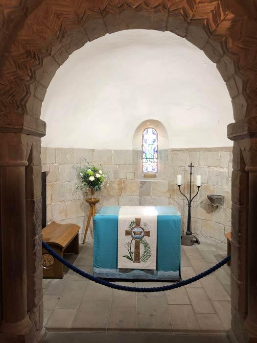 St Margaret's Chapel Altar